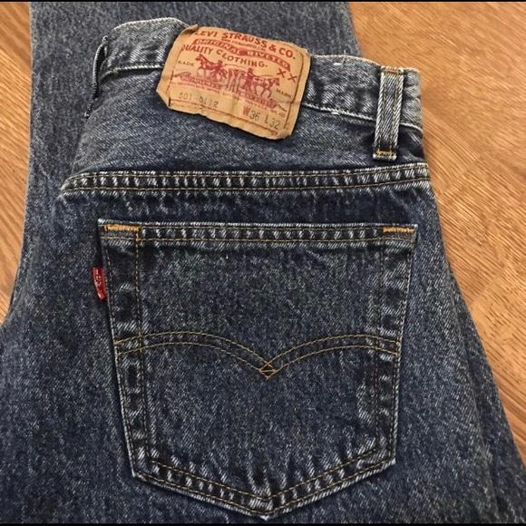9ab9cd297d3 Levi's Jeans | Vintage 80s Levis 501 Stonewashed 8 | Poshmark